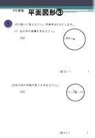 平面図形 ③(円周率)