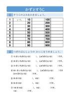 数と数字の勉強