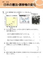 日本の憲法・選挙権の変化