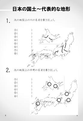 日本の国土~代表的な地形