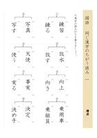 同じ漢字のちがう読み1