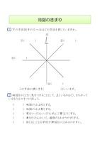 小学3年生_地図の決まり