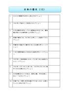 日本の歴史 1問一答 ⑨