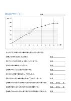 グラフを読もう (折れ線グラフ)
